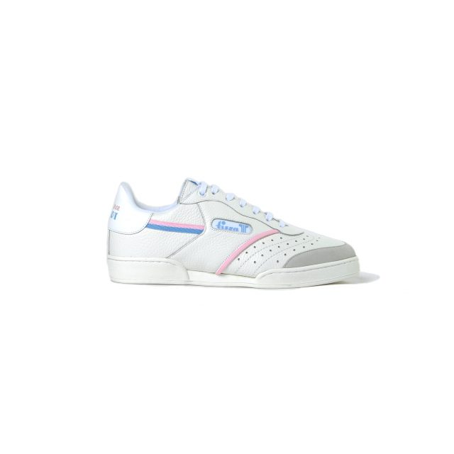 Tisza shoes - Sport - White-blue-pink
