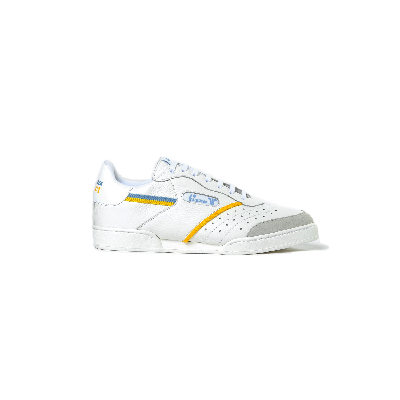 Tisza shoes - Sport - White-yellow-blue