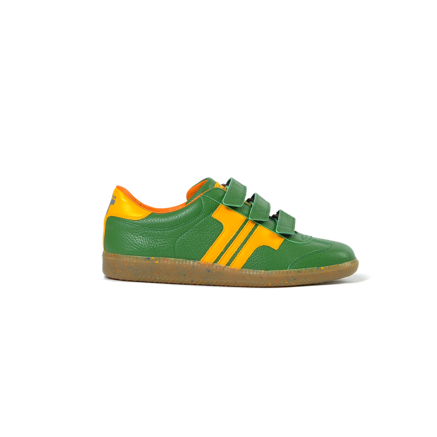 Tisza shoes - Delux - Green-yellow
