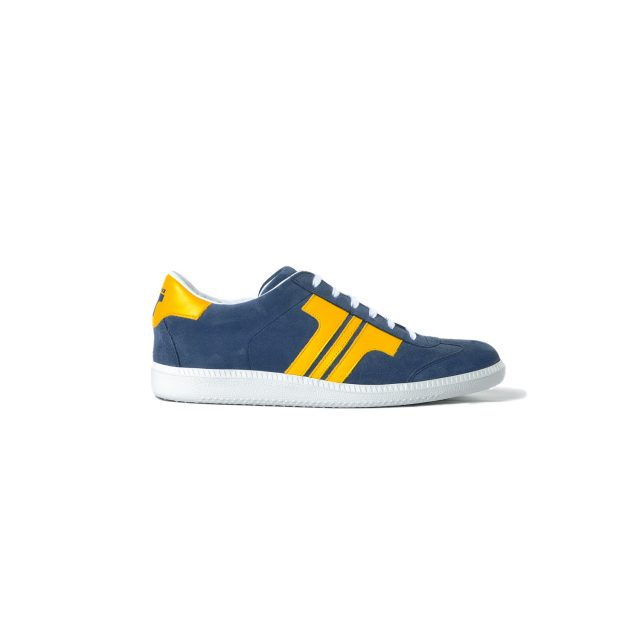 Tisza shoes - Comfort - Navy-yellow