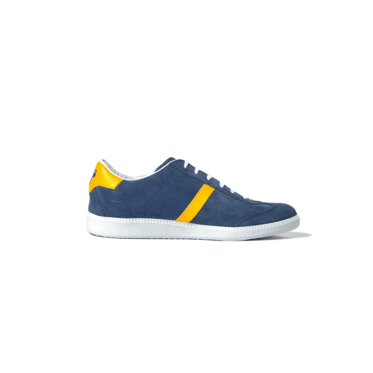 Tisza shoes - Comfort - Navy-yellow