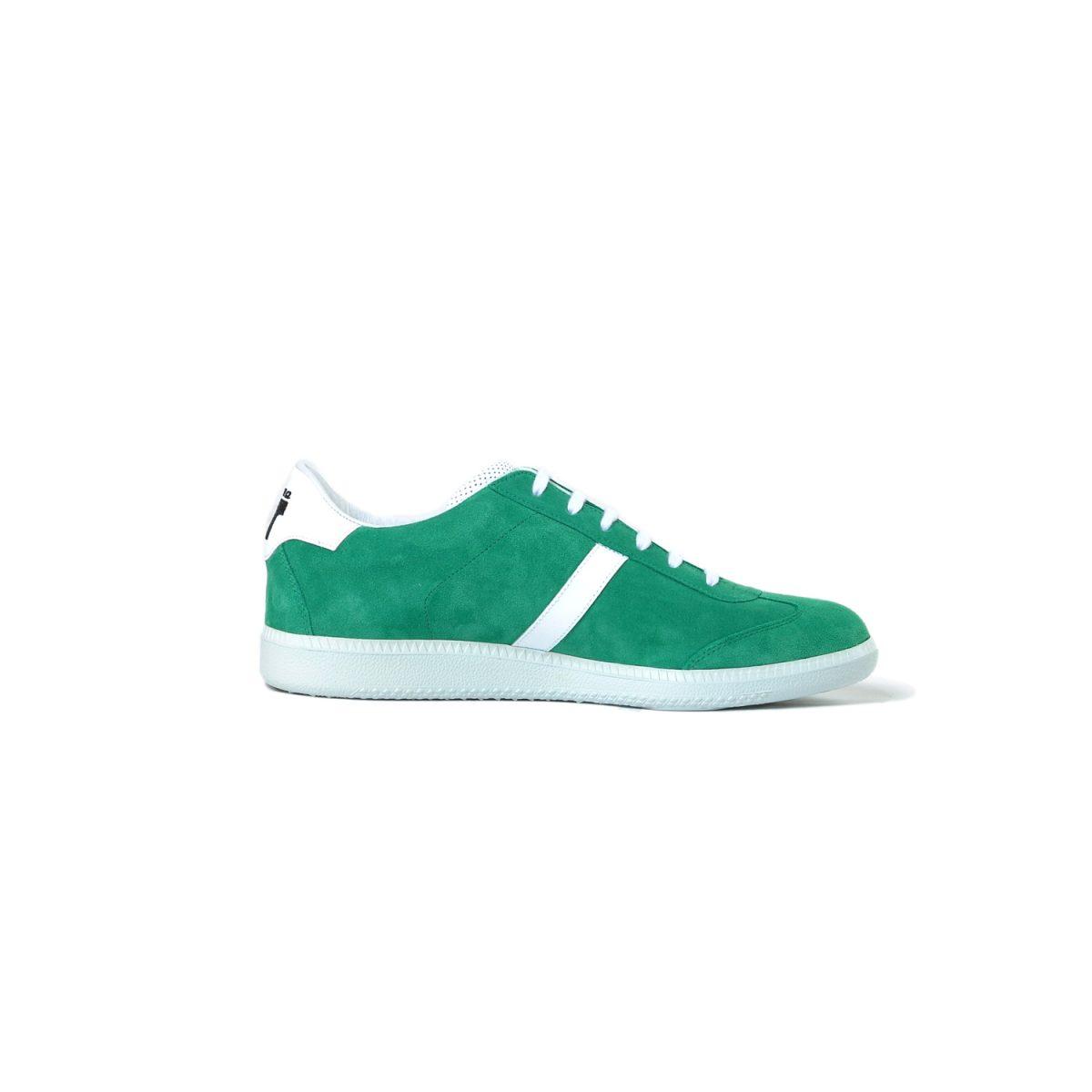 Tisza shoes - Comfort - Green-white
