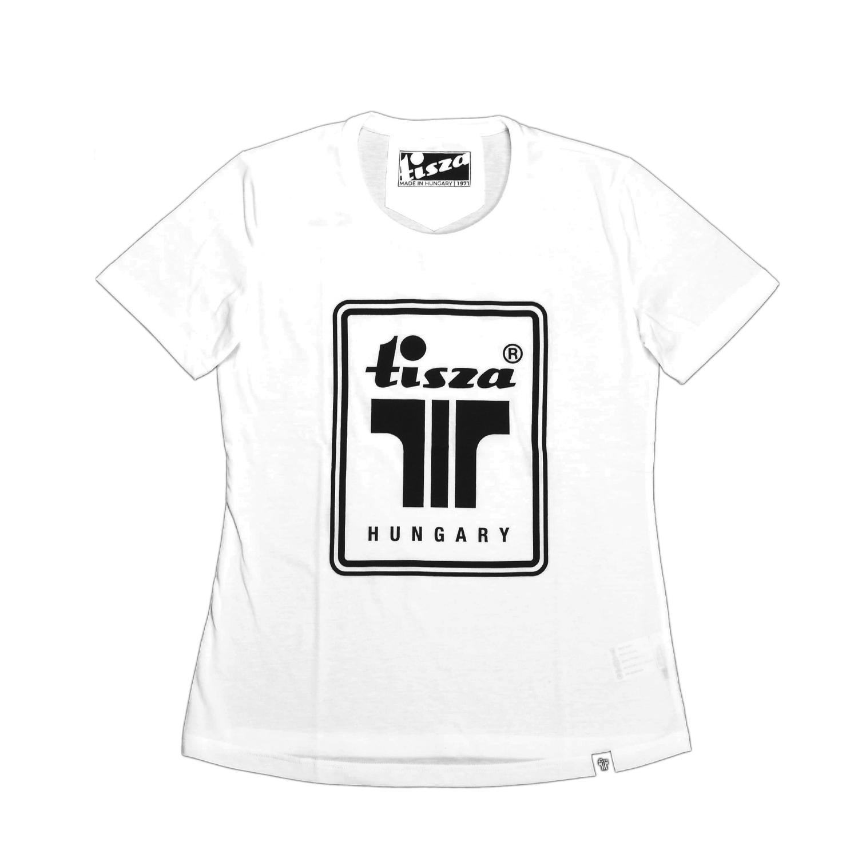 Tisza shoes - Women shirt - White T-logo