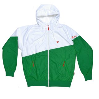 Tisza shoes - Windbreaker - White-green
