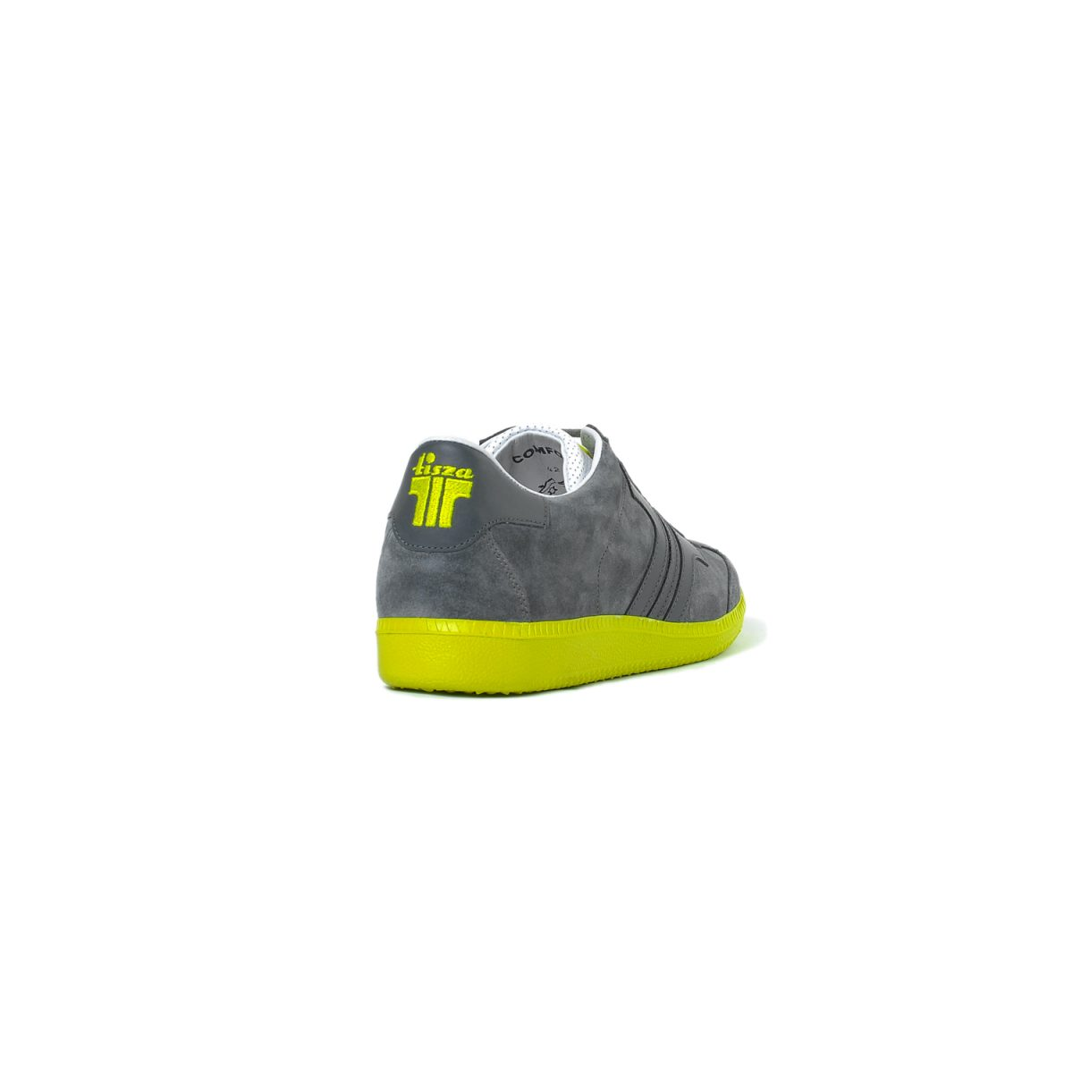 Tisza shoes - Comfort - Grey-lime