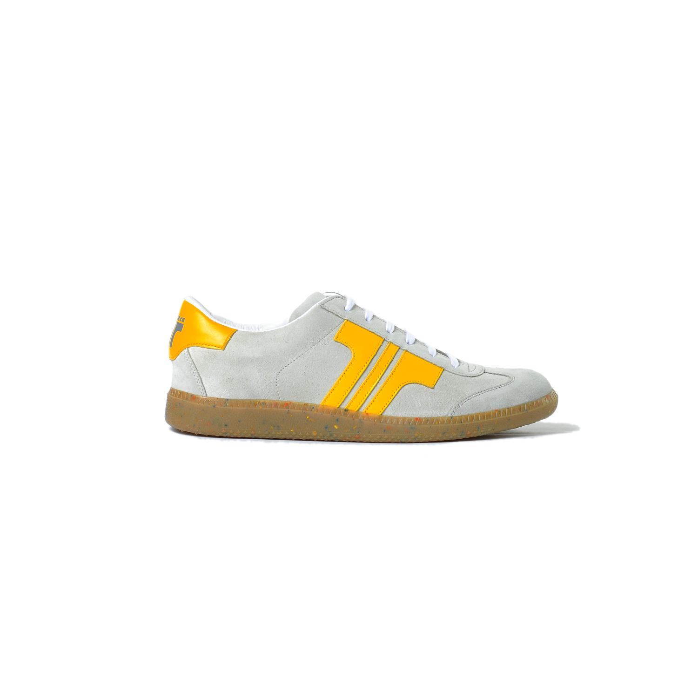 Tisza shoes - Comfort - Off white-yellow