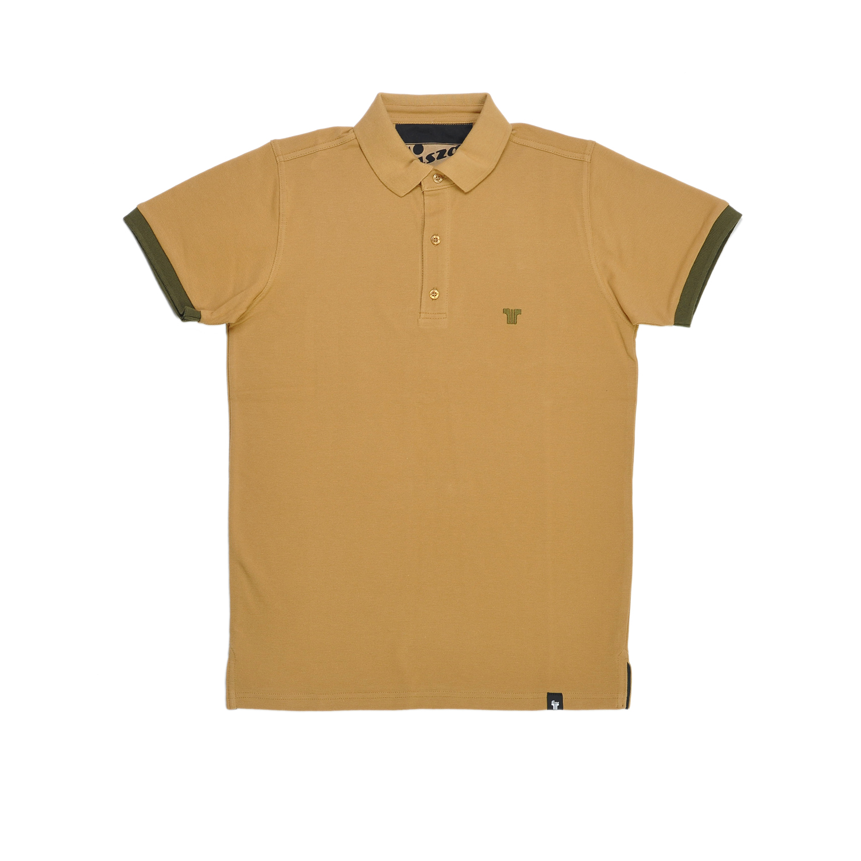 Tisza shoes - Tennis shirt - Beige-khaki