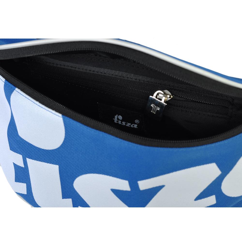 Tisza shoes - Large crossbody belt bag - Royal