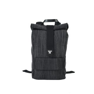 Tisza shoes - Backpack - Black-denim
