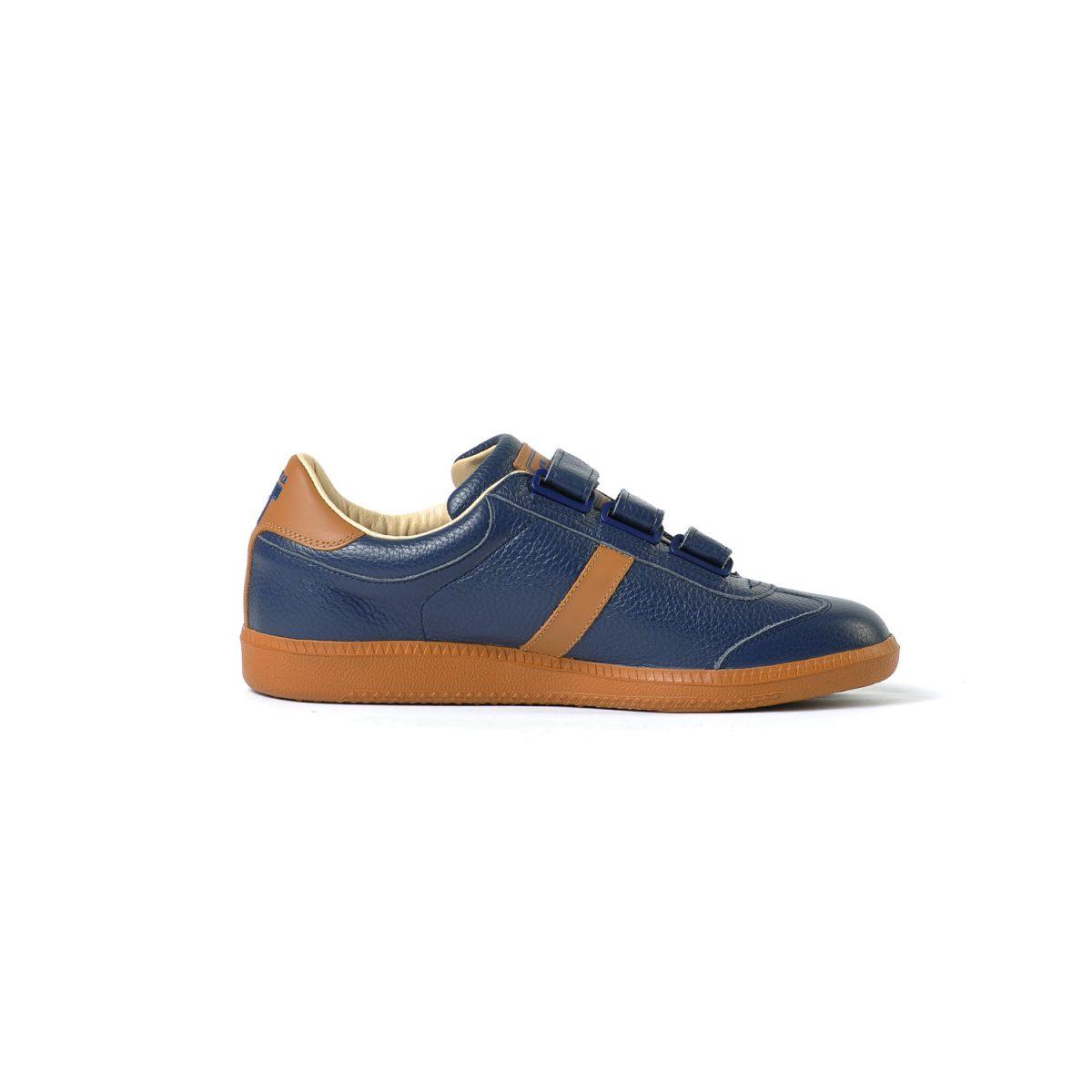 Tisza shoes - Compakt Delux - Navy-tobacco