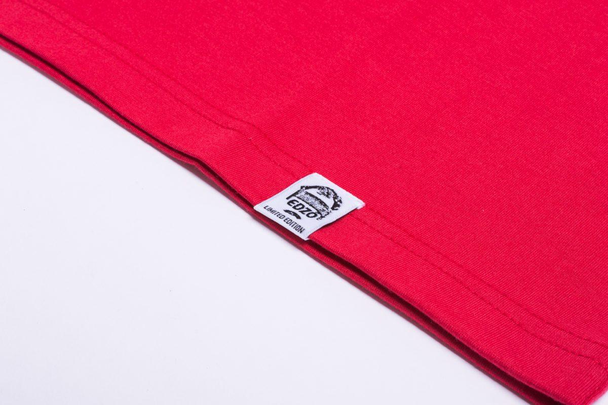 Tisza x Edző - Trainer red póló
