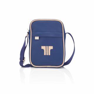 Tisza Shoes - Kicsi oldaltáska - blue-beige