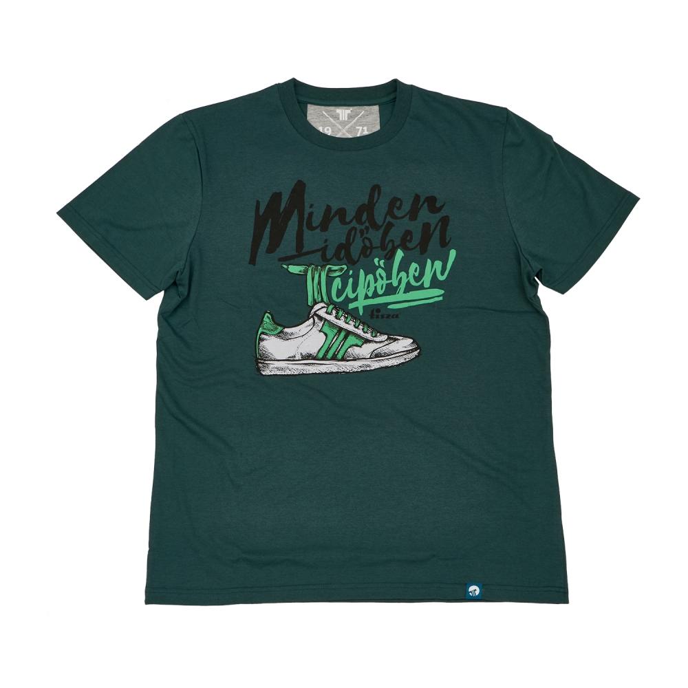 Tisza Shoes - Póló - Green. T-shirts df0350932e