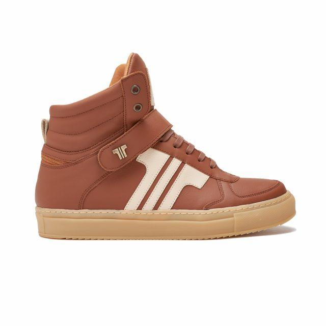 Tisza Shoes - M4 - mahagony-beige