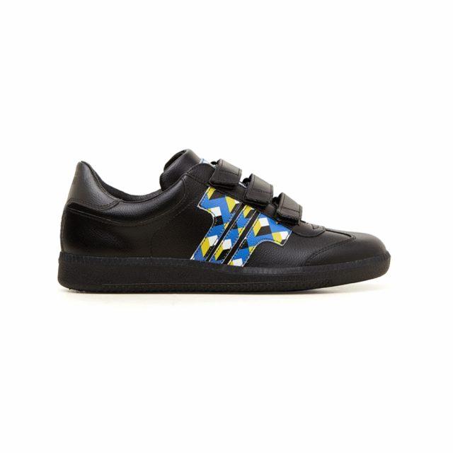 Tisza Shoes - Compakt Delux - Gizi-geo-black
