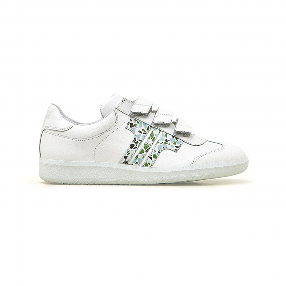 Tisza Shoes - Compakt Delux - Manci-pebble-white