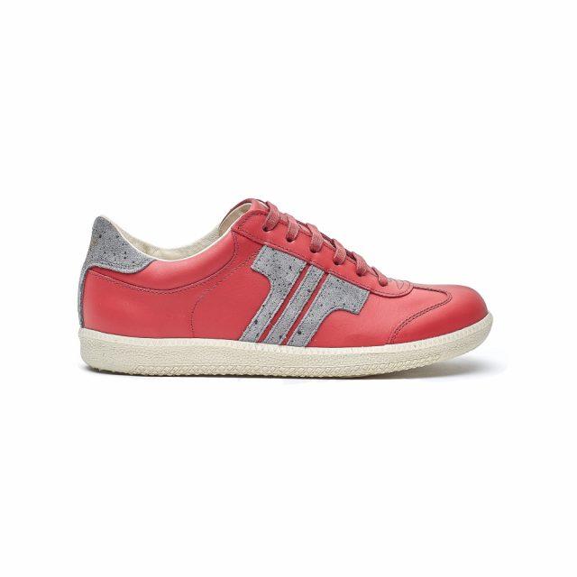 Tisza Shoes - Compakt - cherry-silver