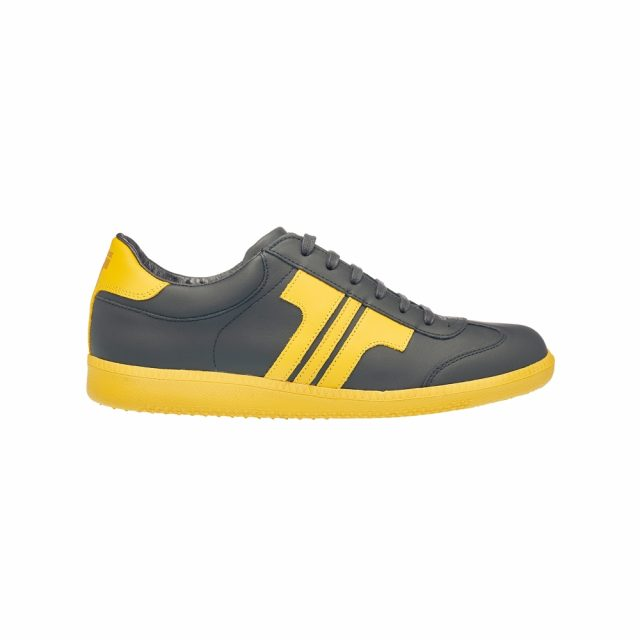 Tisza Shoes - Compakt - black-yellow