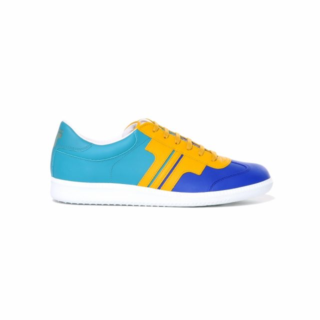 Tisza Shoes - Compakt - indigo-yellow-aqua