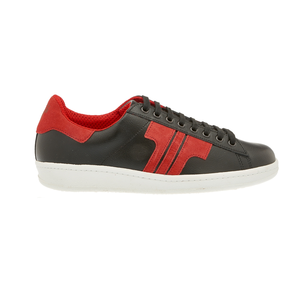 Tisza Shoes - Tradíció - Black-Red