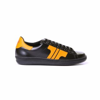 Tisza Shoes - Tradíció - black-yellow