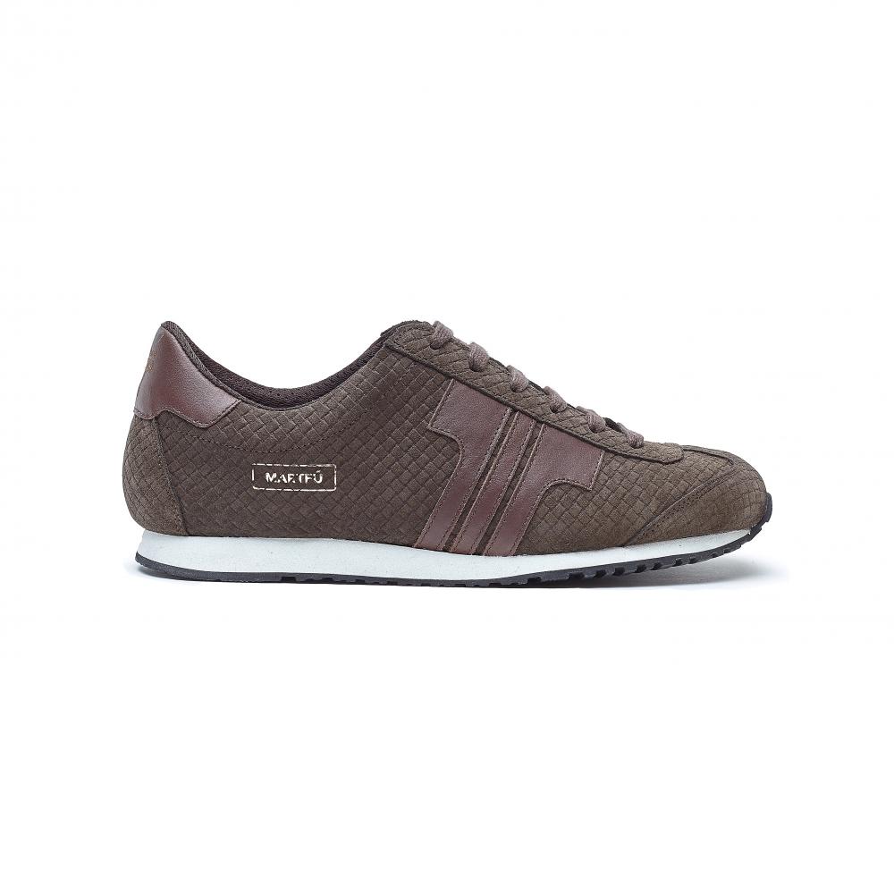 Tisza Shoes - Martfű - brown-braided